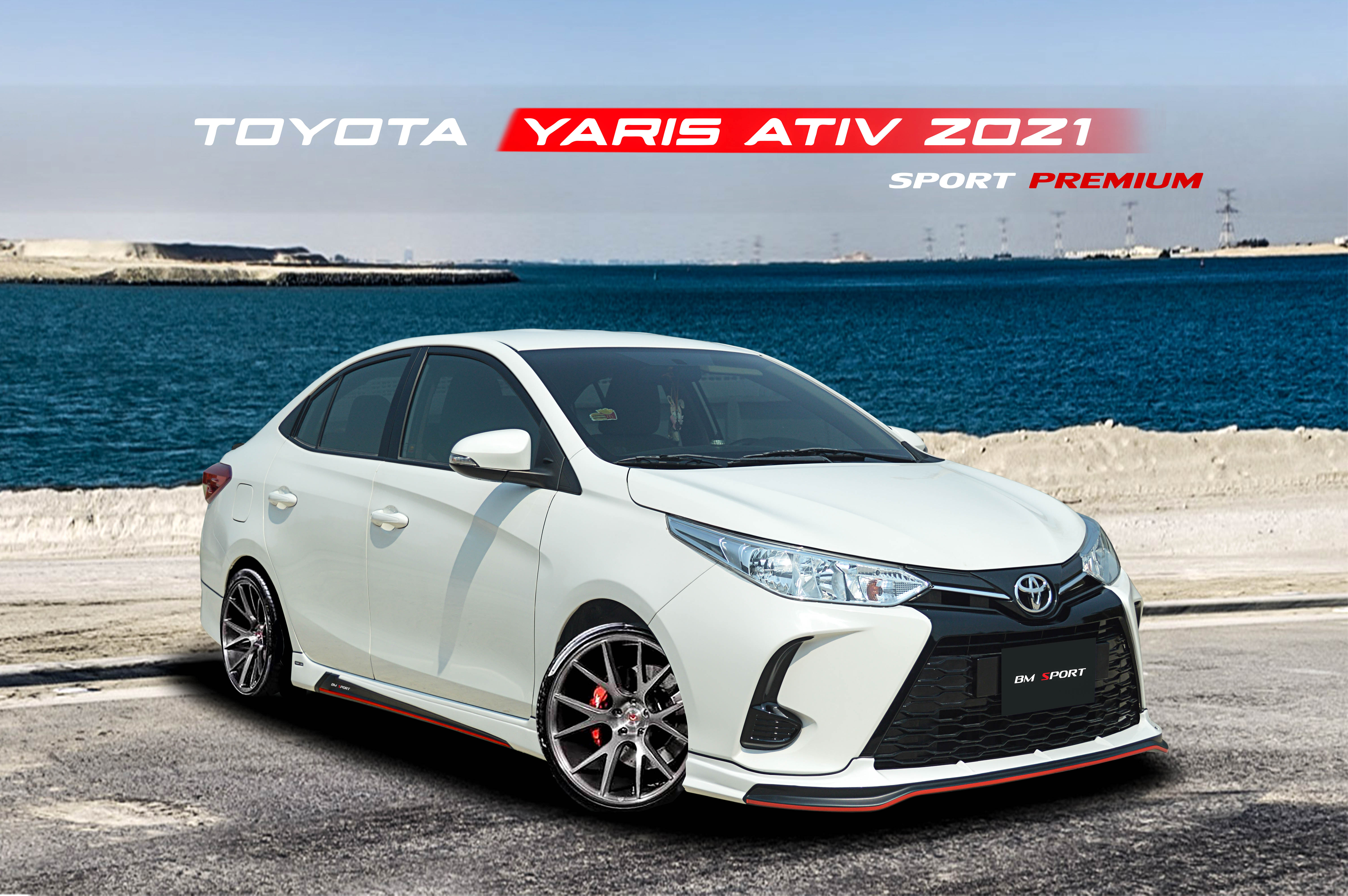ชุดแต่งรอบคัน NEW YARIS ATIV 2021 (SPORT PREMIUM)