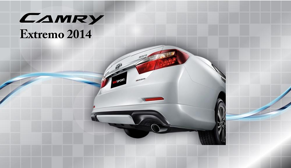 ชุดแต่ง TOYOTA CAMRY EXTREMO 2.0G 2014