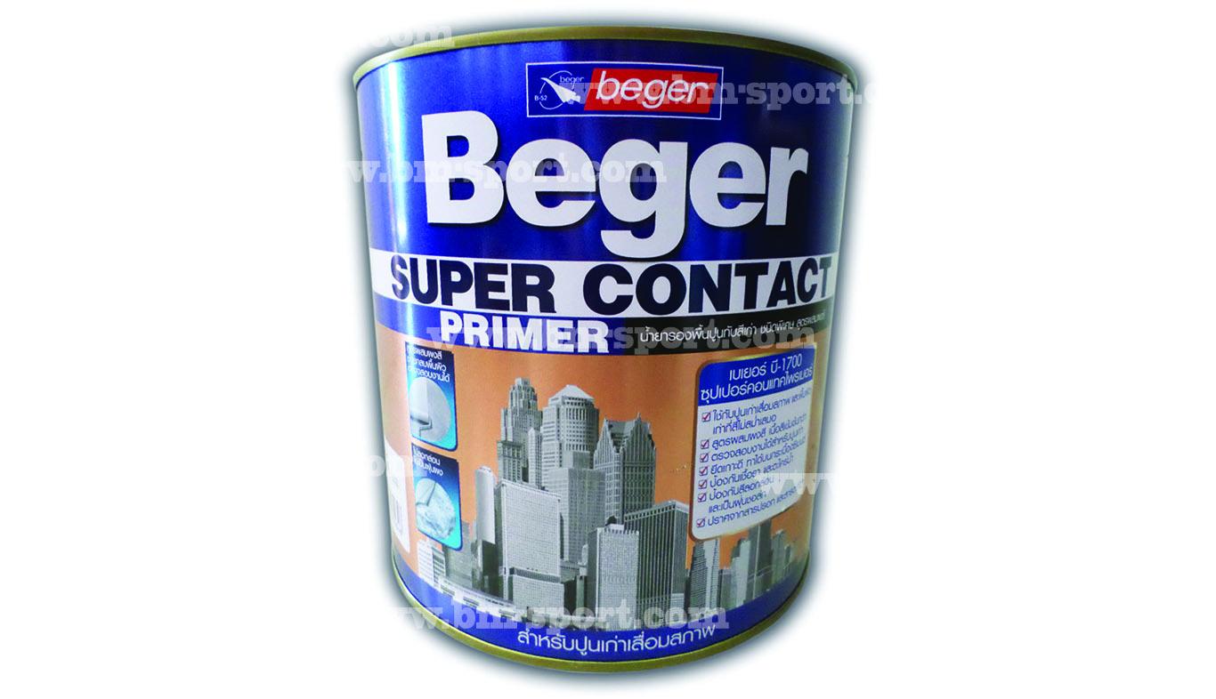 Beger Primer น้ำยารองพื้นปูนทับสีเก่า ขนาด 3.785 ลิตร