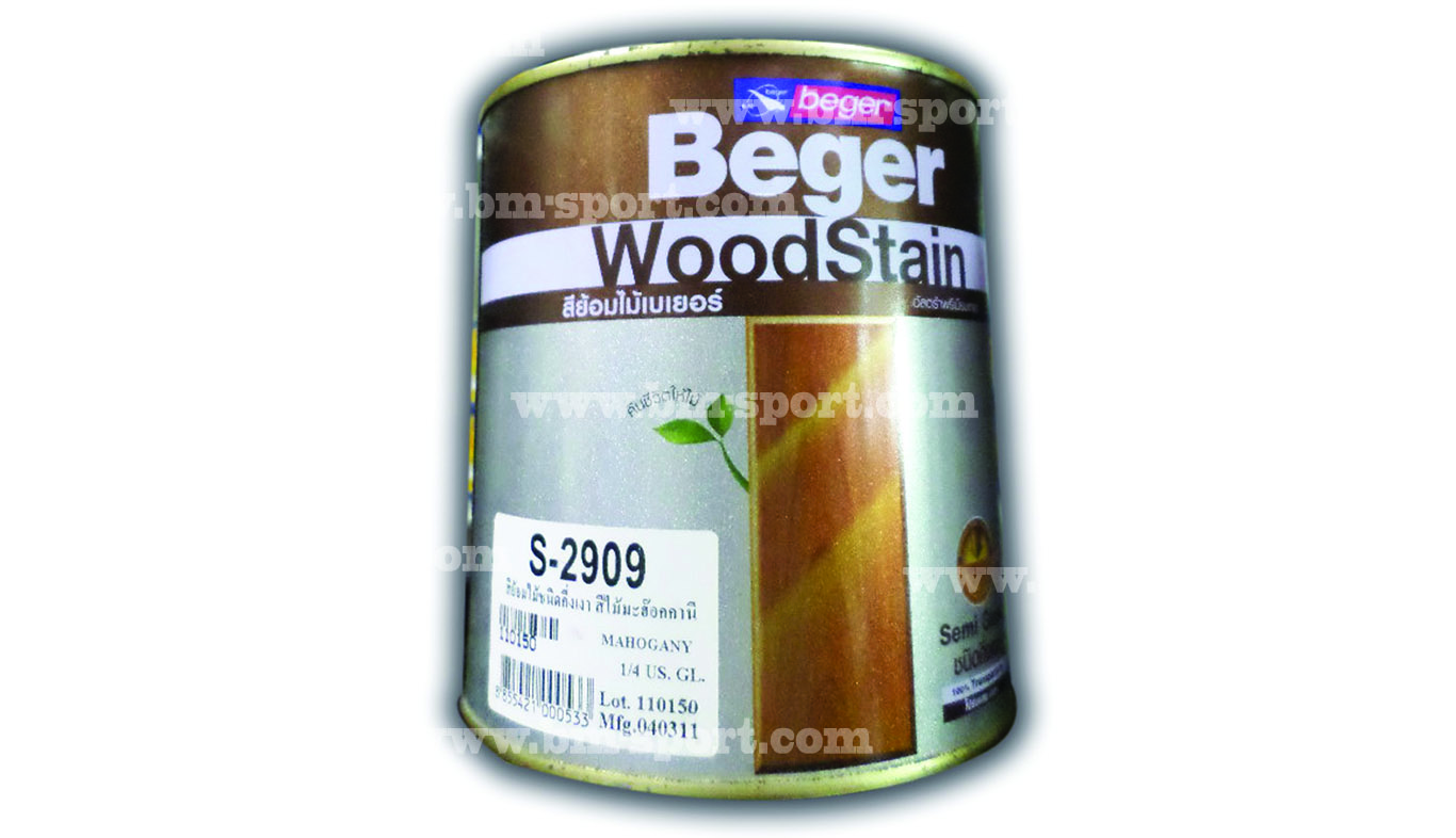 Beger Wood Stain ขนาด 1-4 GL.l