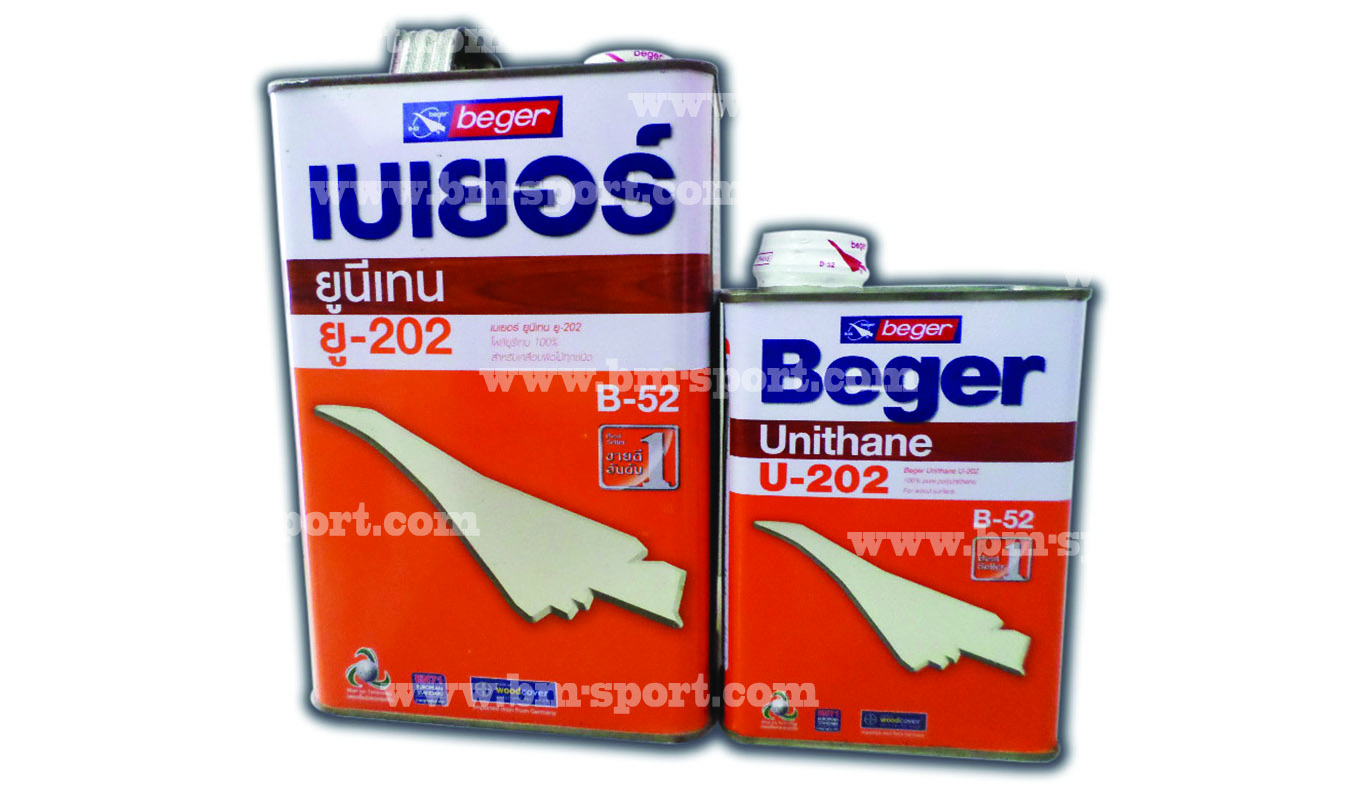 Beger ยูนีเทน ยู-202 ขนาด 3.785 ลิตร และ 0.946 ลิตร