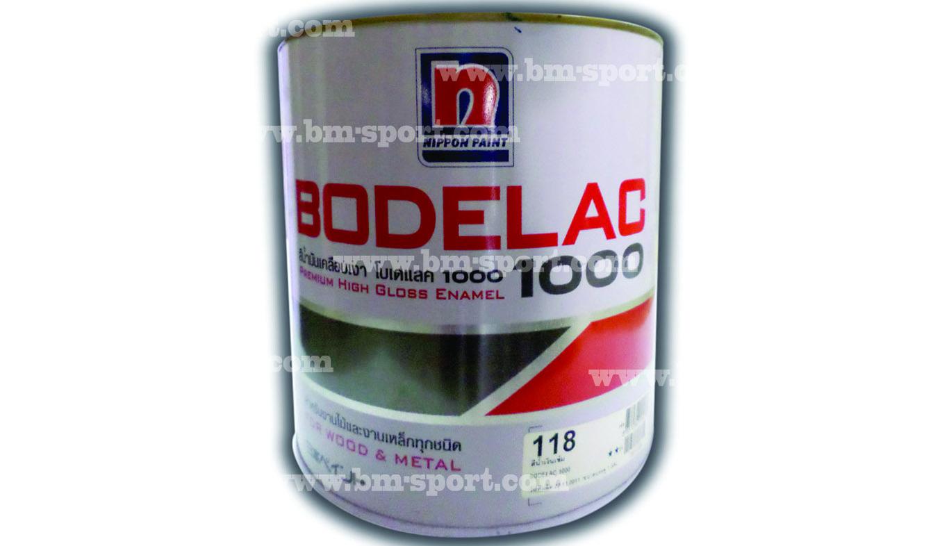 BODELAC 1000 สีน้ำมันเคลือบเงา งานไม้และเหล็กทุกสี