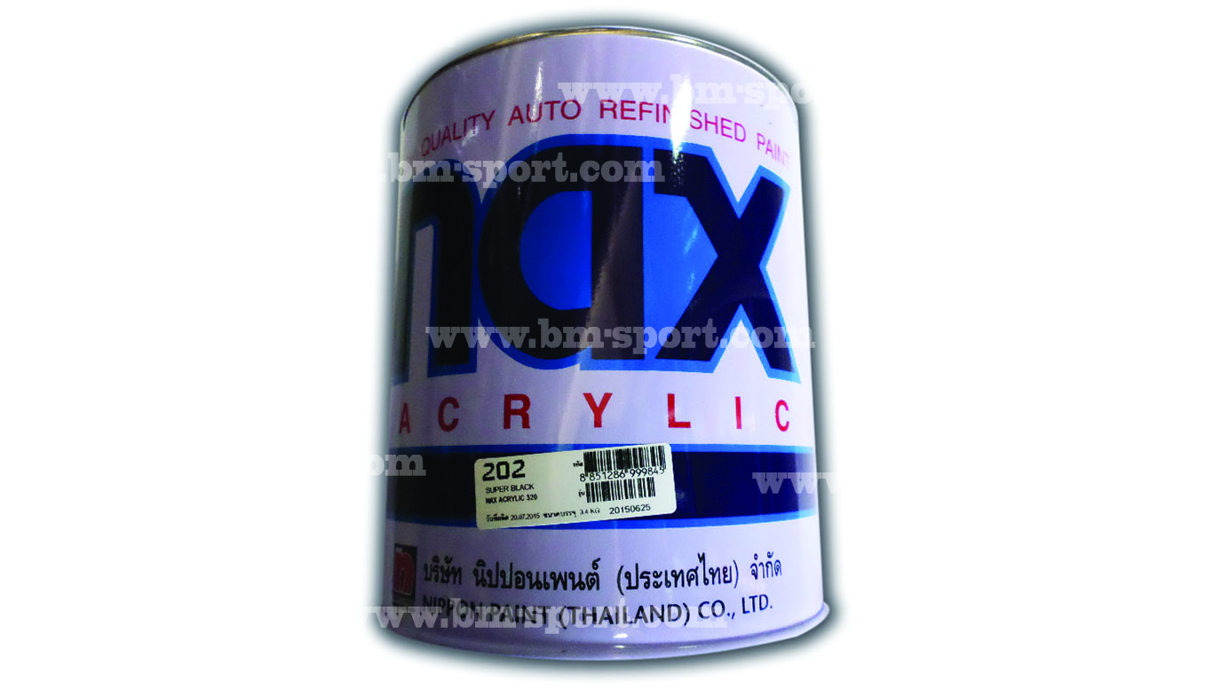 NAX ACRYLIC ขนาด 3.4 ลิตร และขนาด 0.85 ลิตร
