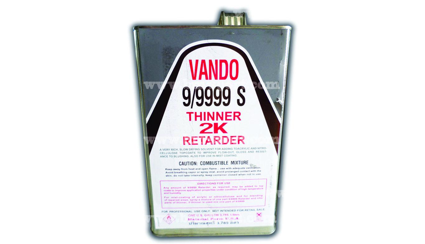 VANDO 9-9999 ทินเนอร์ ขนาด 3.785 ลิตร
