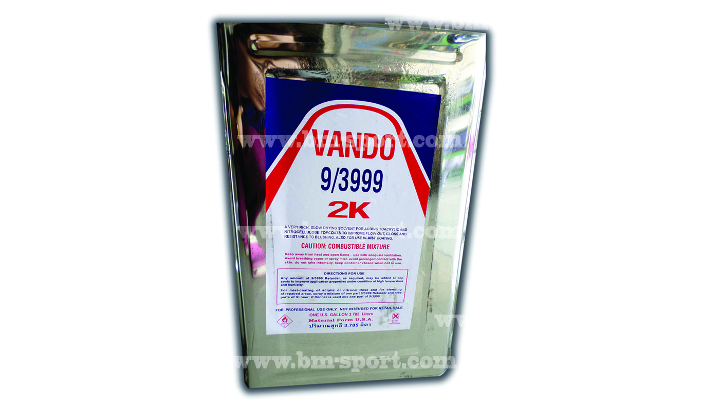 VANDO 9-3999 2K ทินเนอร์ 3.785 ลิตร