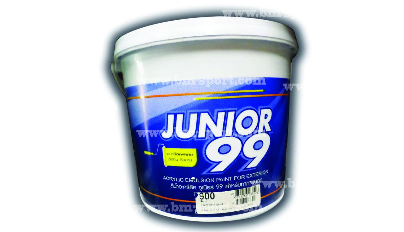JUNIOR 99 สีน้ำอะคริลิค สำหรับทาภายนอก ขนาด 3.5 ลิตร