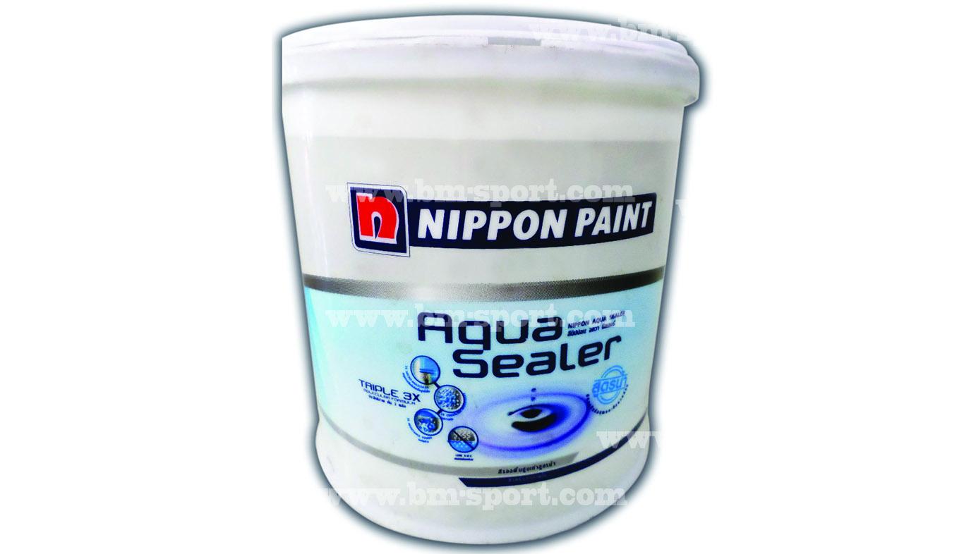 NIPPON PAINT Aqua Sealer สีรองพื้นปูนเก่าสูตรน้ำ ขนาด 3.785 ลิตร