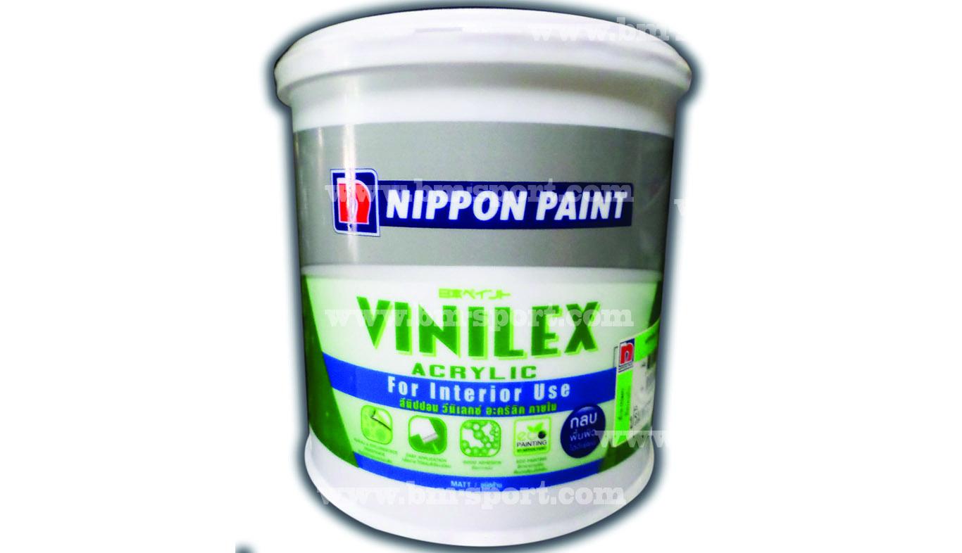 NIPPON PAINT Vinilex Acrylic For Interior Use ขนาด 3.54 ลิตร และขนาด 8.61 ลิตร