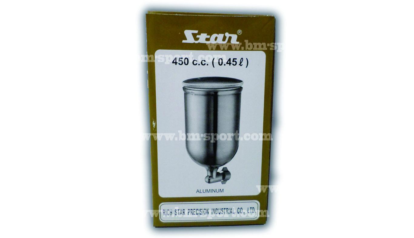 กาพ่นสี STAR Aluminum 450 c.c. ( 0.45 L.)