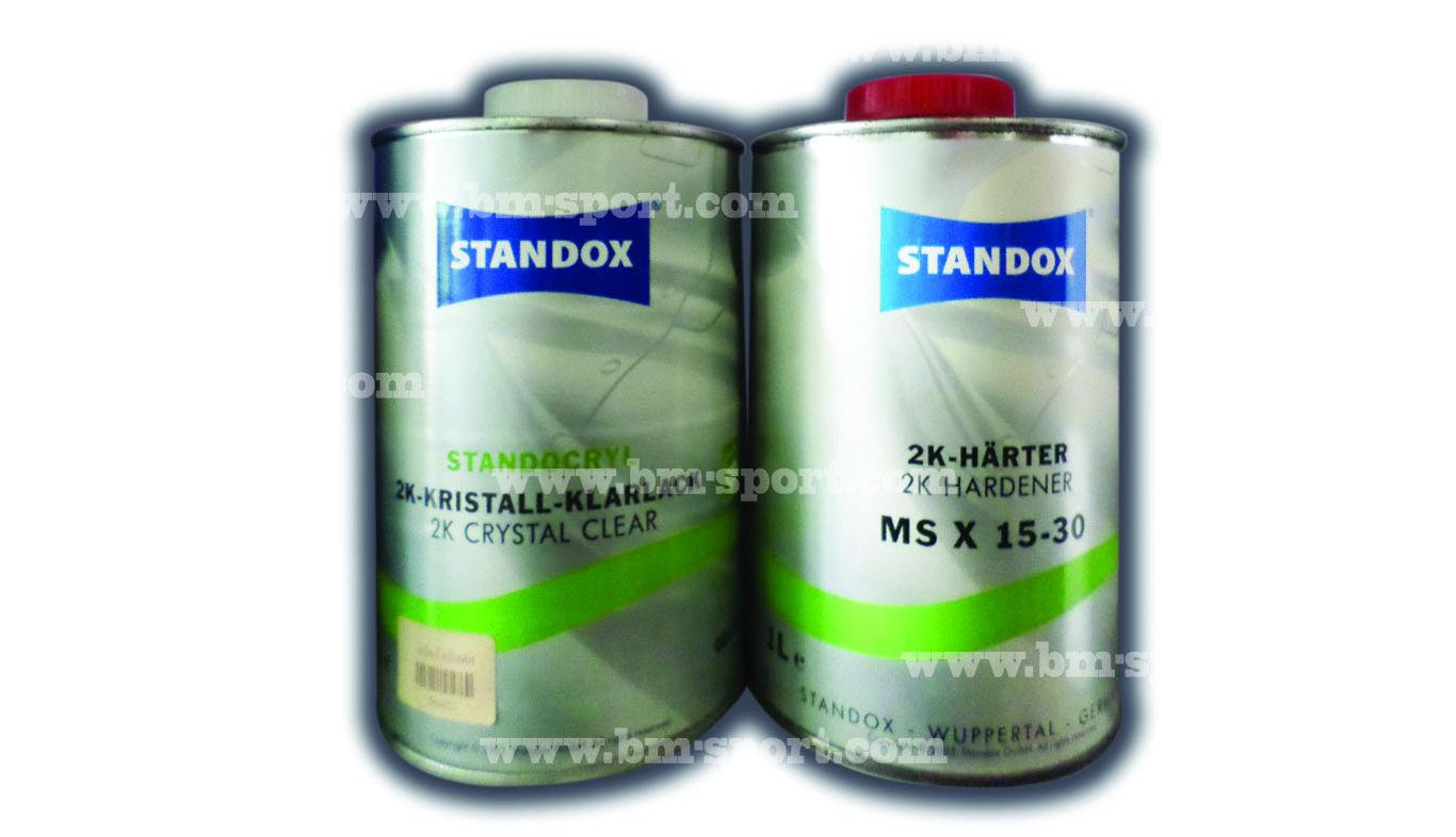 STANDOX 2K CRYTAL CLEAR , 2K HARTER
