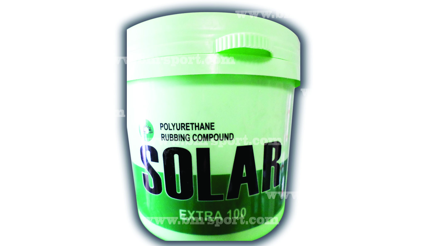 SOLAR Extra 100 Polyurethane Rubbing Compound