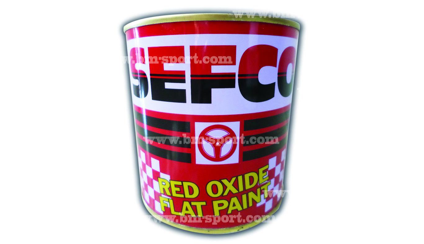 SEFCO RED OXIDE FLAT PAINT ขนาด 0.85 ลิตร
