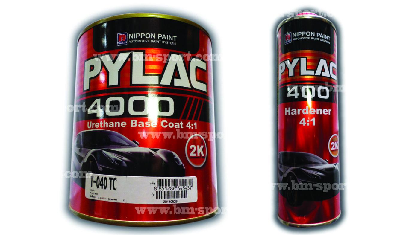 PYLAC 4000 Urethane Base Coat 4-1 ทุกสี ขนาด 1 ลิตร และขนาด 0.250 ลิตร