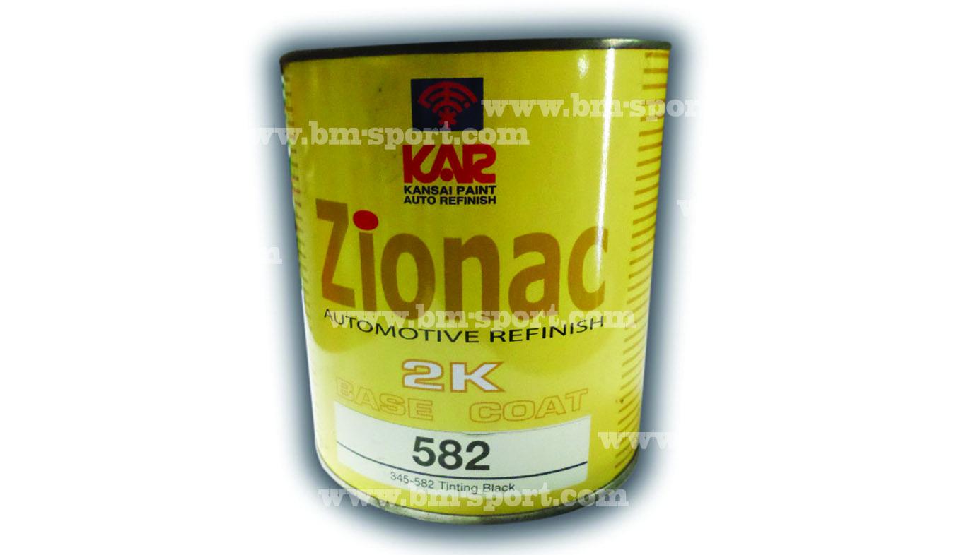 KANSAI PAINT ZIONAC 2K BASE COAT ขนาด 3.785 ลิตร และขนาด 0.946 ลิตร