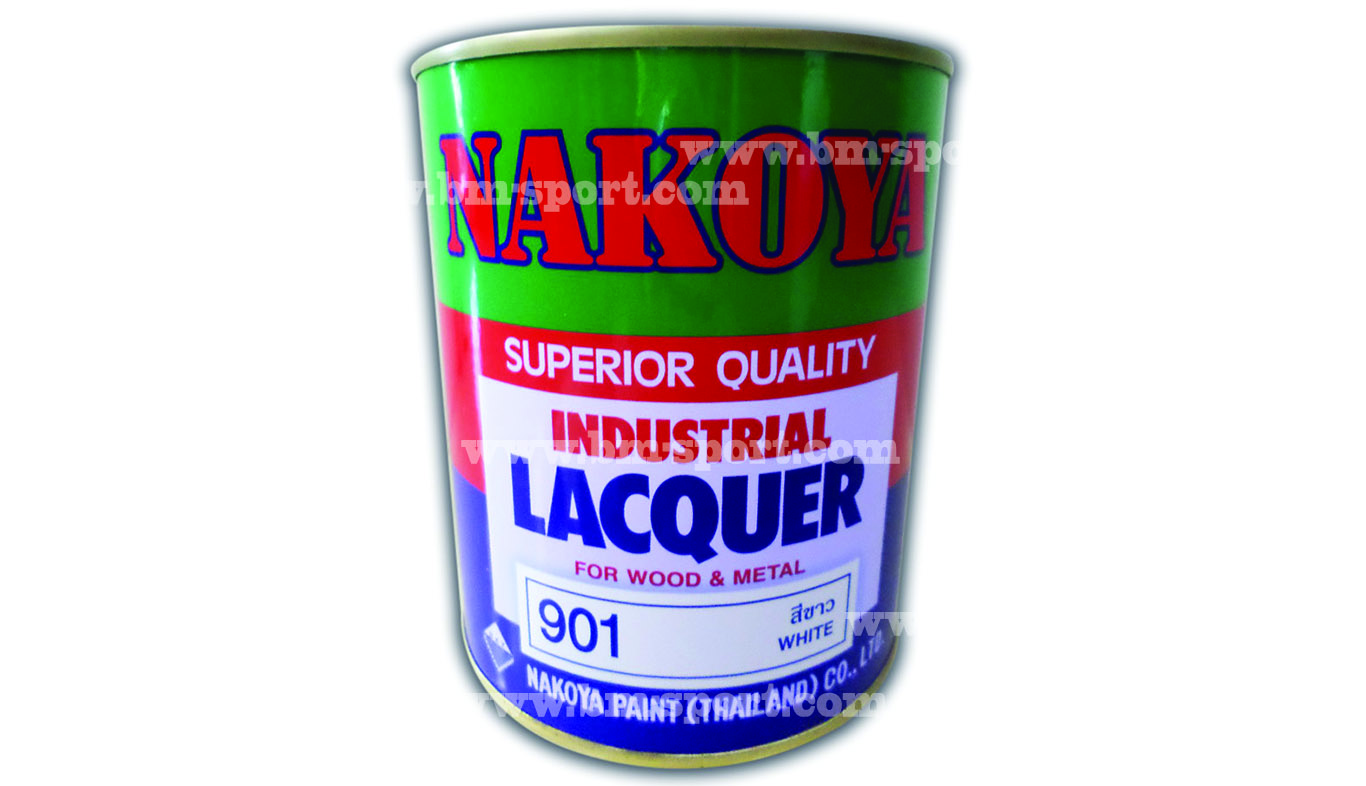 NAKOYA INDUSTRIAL LACQUER For Wood & Metal ขนาด 0.800 Liters และ ขนาด 3.200 Liters