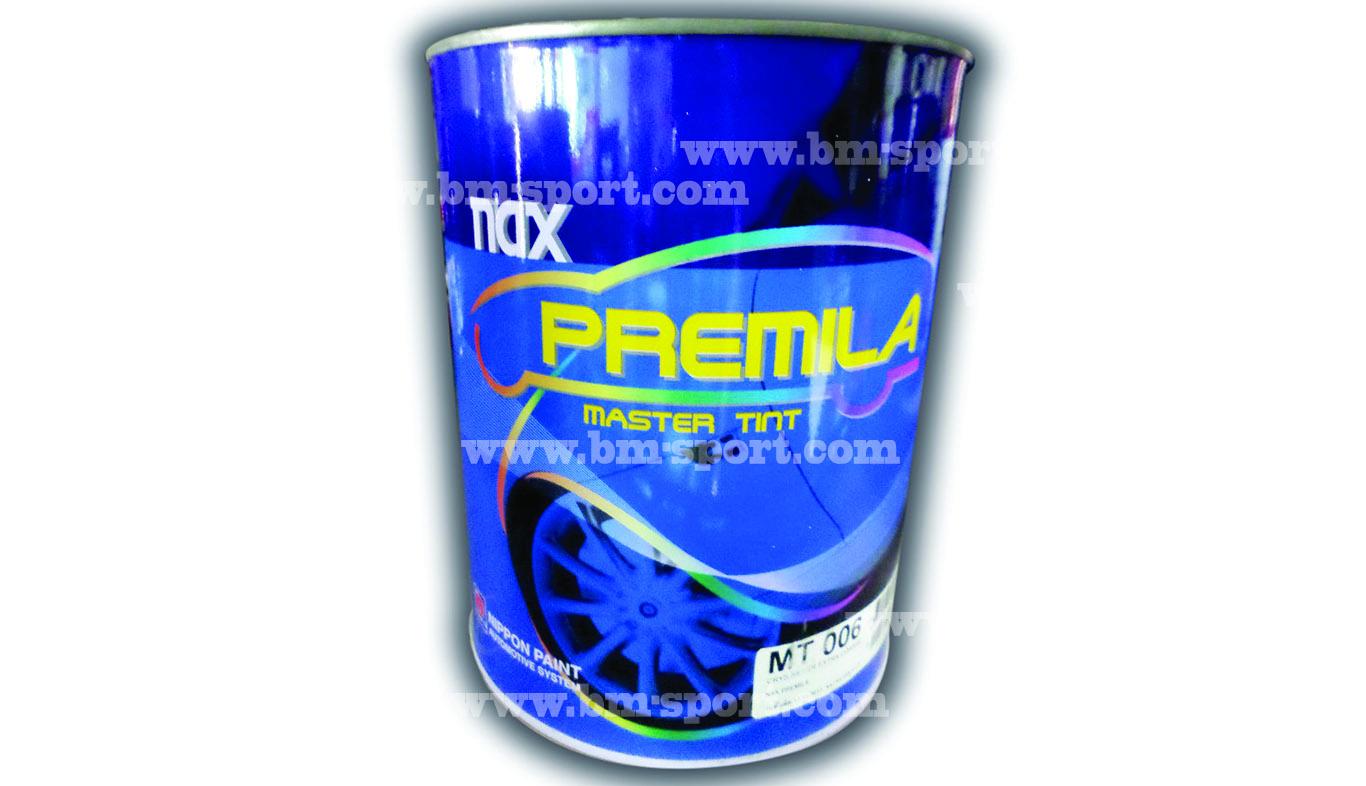 NAX PREMILA Master tint ขนาด 1 ลิตร และขนาด 4 ลิตร