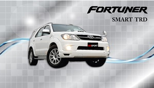 ชุดแต่ง TOYOTA  FORTUNER  SMART TRD
