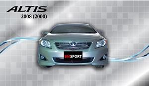 ชุดแต่ง TOYOTA ALTIS 08 (เครื่อง 2000)