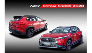 ชุดแต่ง NEW COROLLA CROSS 2020 (Urban Sport)