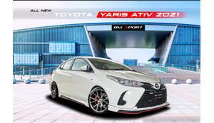 ชุดแต่ง NEW YARIS ATIV  2021