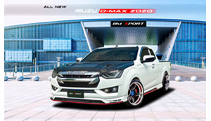 ALL NEW ชุดแต่งรอบคัน ISUZU D-MAX 2020 (CAB)